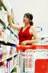 courses ménagères titres services